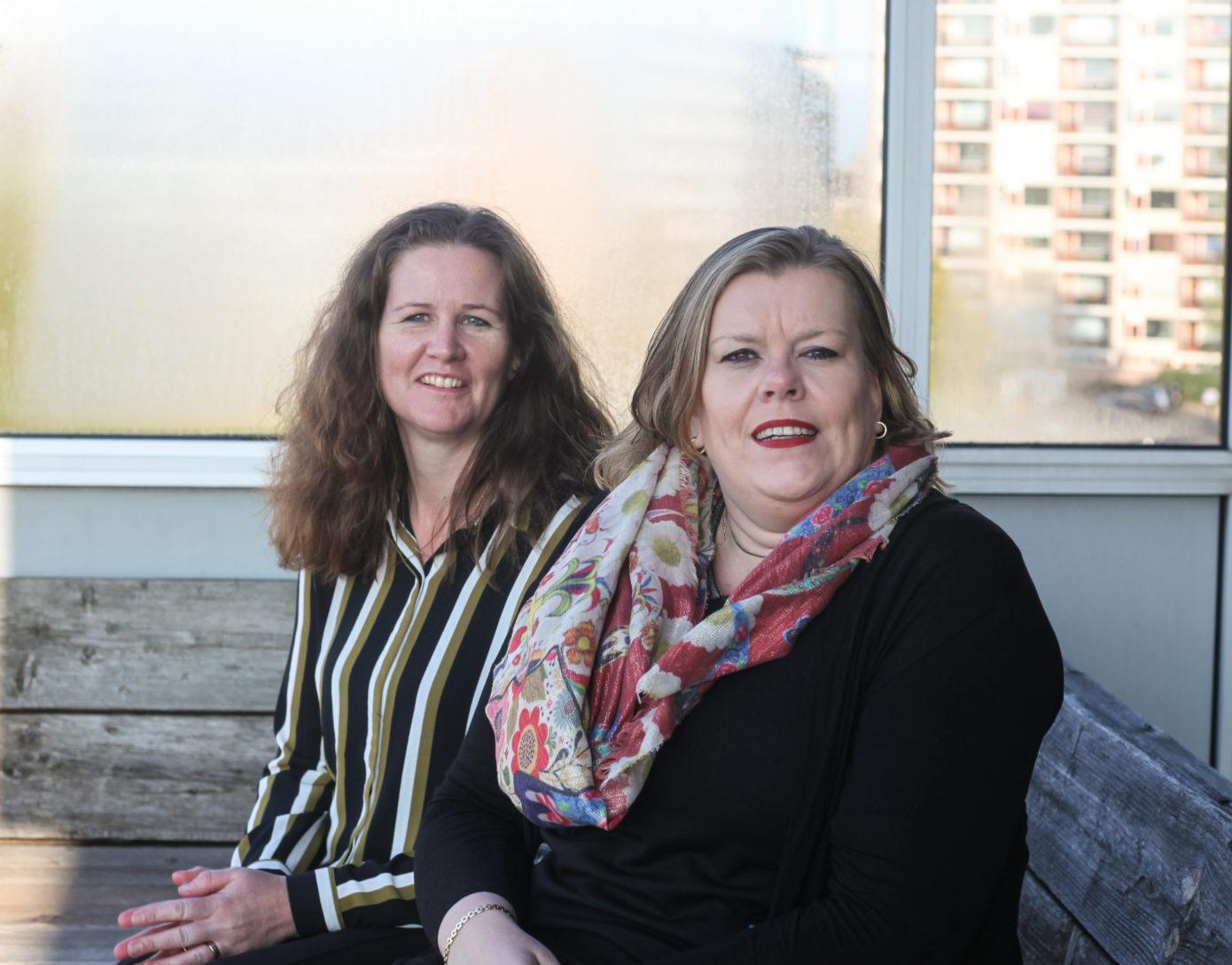 Liesbeth van der Vegt en mevrouw Schuijer